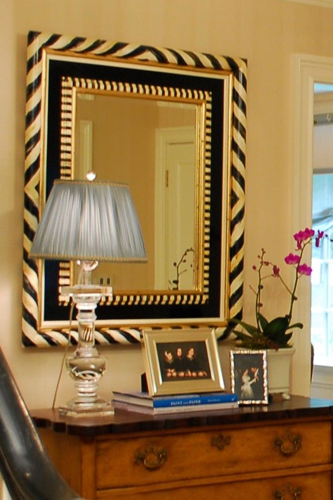 Connells Furniture for a Traditional Entry with a Lighting and a Family Affair: Curb Appeal by Jennifer Connell Design