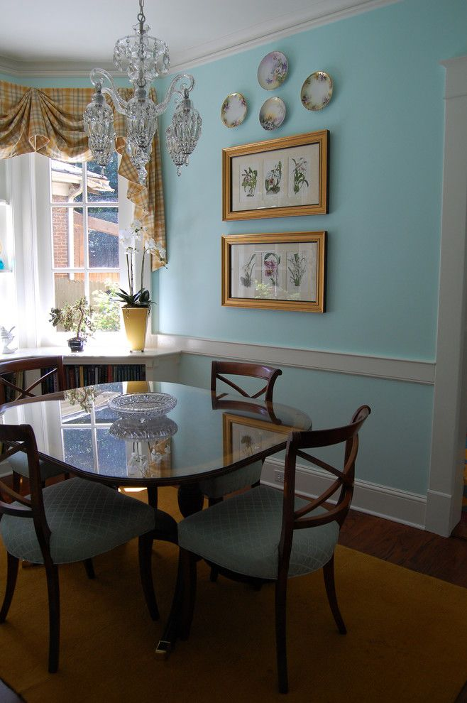 Conservatory at Druid Hills for a  Spaces with a  and Druid Hills Residence by Richard Burgess