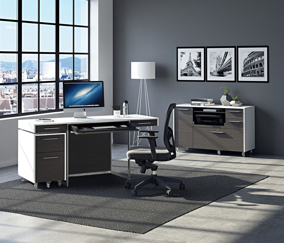 Consignment Furniture Tulsa for a Contemporary Home Office with a Home Office Products and Bdi Furniture by Bdi Furniture