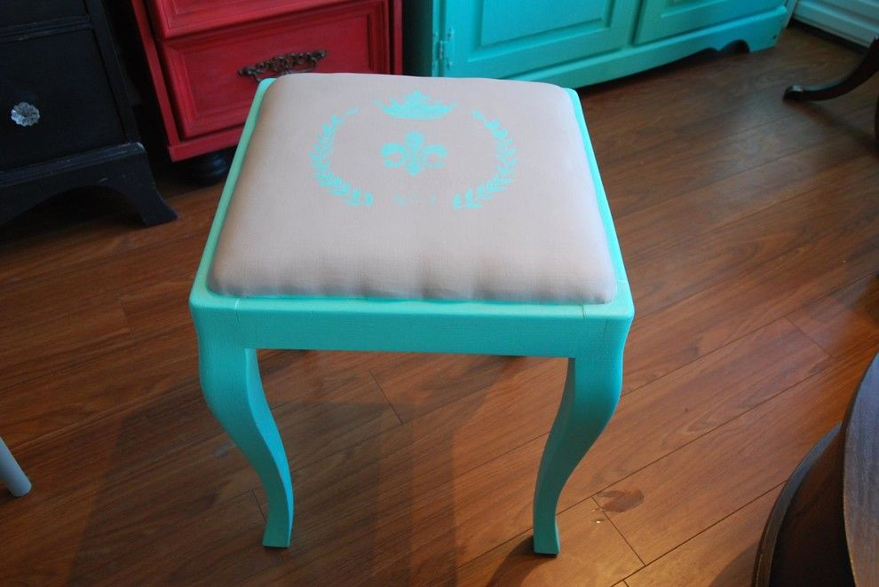 Consignment Furniture Tulsa for a  Living Room with a Ottoman and Recent Pieces by Karma Fine Furniture Consignment