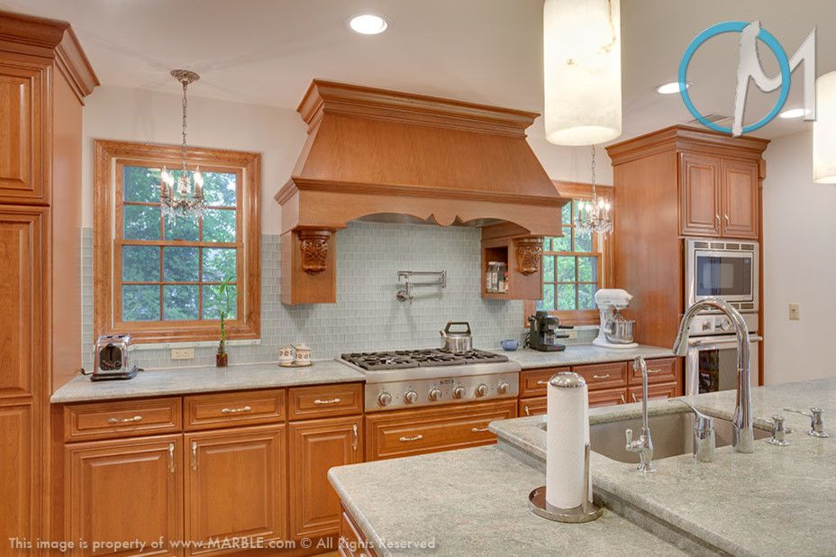Contra Costa Appliance for a Contemporary Kitchen with a Granite Kitchen and Costa Rose Granite Kitchen   Marble.com by Marble.com All Granite & Marble Corp.