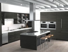 Contra Costa Appliance for a Contemporary Kitchen with a White Countertop and Bosch Home Appliances by Bosch Home Appliances