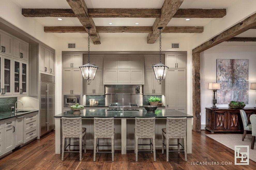 Contra Costa Appliance for a Transitional Kitchen with a Kitchen and Kitchens by Lucas Eilers Design Associates, Llp