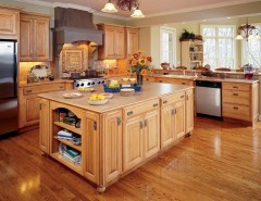 Cookson Doors for a Craftsman Kitchen with a Raised Panel and Kitchen Cabinets by Capitol District Supply