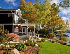 Coopers Lake for a Traditional Landscape with a Porch and Brauner Residence by Phinney Design Group