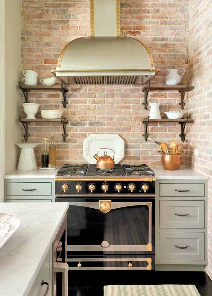 Copper Kettle Nashville for a Traditional Kitchen with a Copper and 252 7th Avenue by Promenade Design + Build