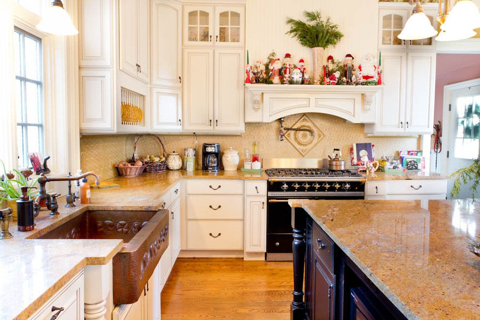 Copper Kettle Nashville for a Traditional Kitchen with a Holiday Decorating and Kitchen by Rikki Snyder