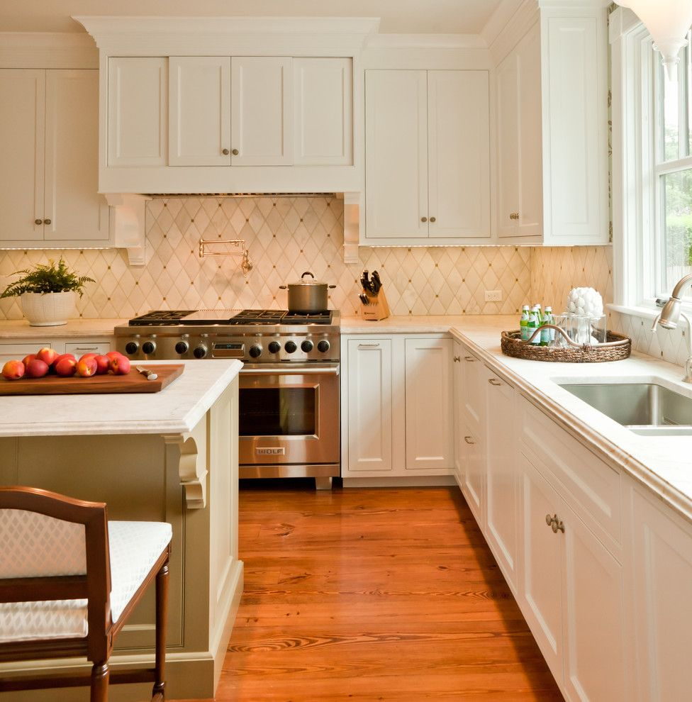 Copper Kettle Nashville for a Transitional Kitchen with a Contemporary and Victorian Summer Cottage by Taste Design Inc