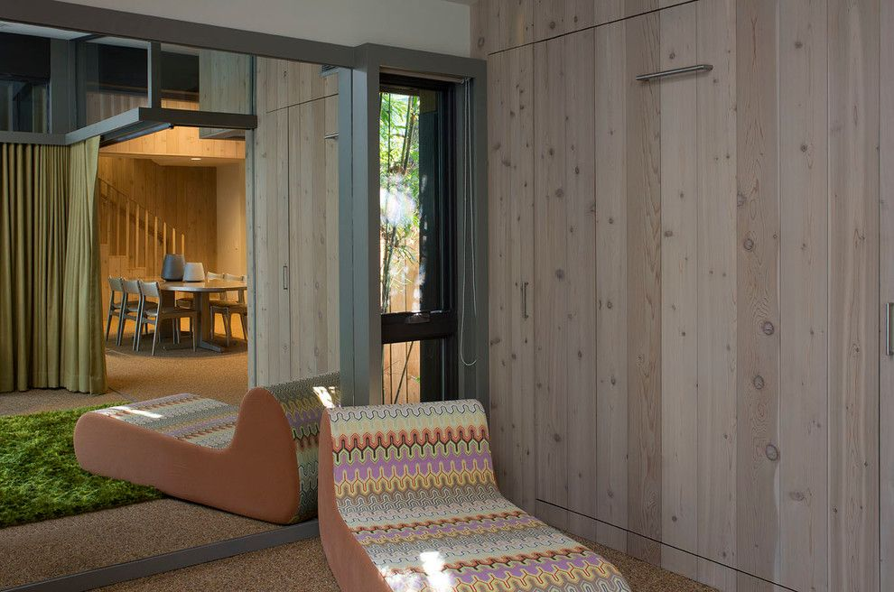 Corepower Yoga Austin for a Midcentury Family Room with a Family Room and Brady Lane Remodel Addition by Webber + Studio, Architects