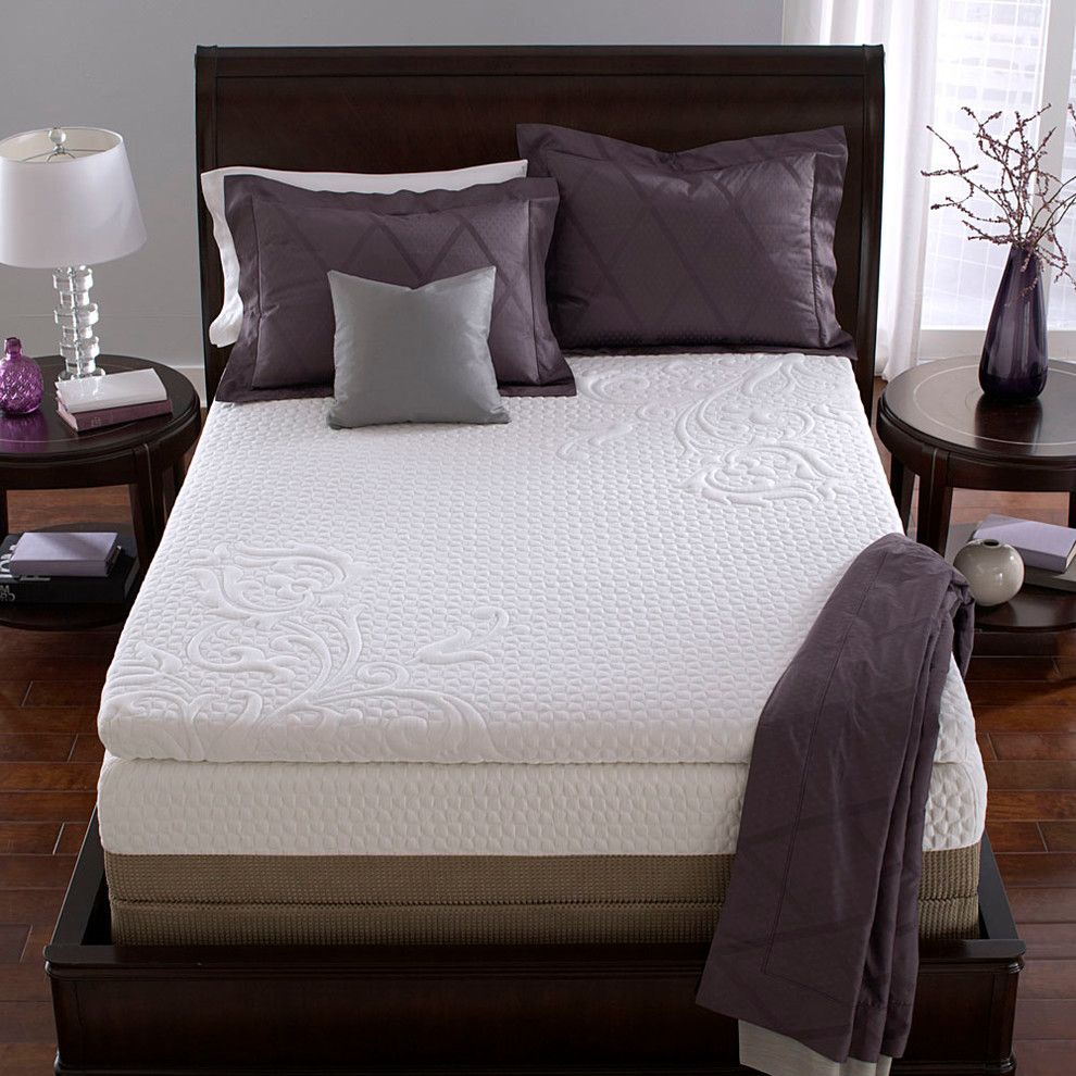 Costco Memory Foam for a Contemporary Bedroom with a Contemporary and Icomfort by Serta by Icomfort Sleep System