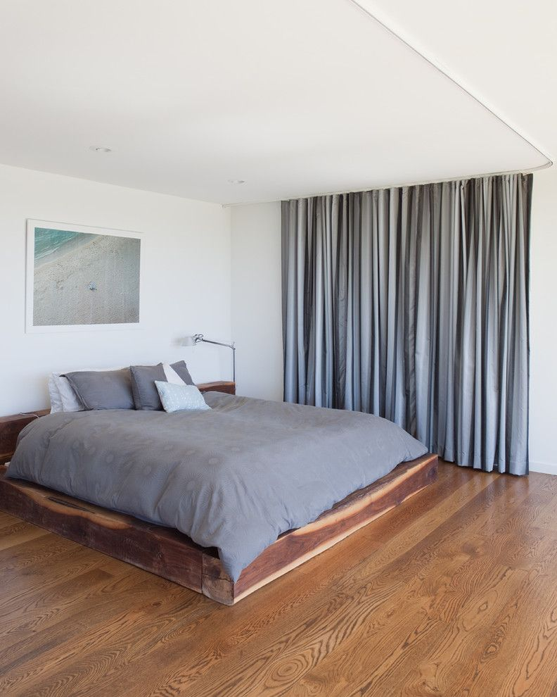 Costco Memory Foam for a Modern Bedroom with a Modern and Porch House by Hufft Projects