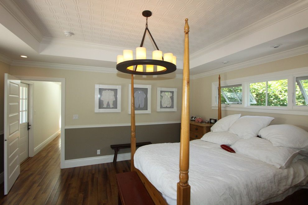 Costco Memory Foam for a Traditional Bedroom with a Traditional and Tin Ceiling Tiles by Nunley Custom Homes