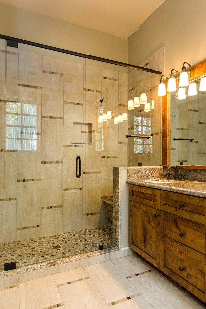 Costco Reno Nv for a Contemporary Bathroom with a Mountain and Sunnyside by Structerra, Inc.
