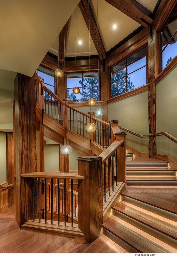 Costco Reno Nv for a Contemporary Staircase with a Contemporary and Martis Camp Lot 376 by Sonder Nicholas Architect