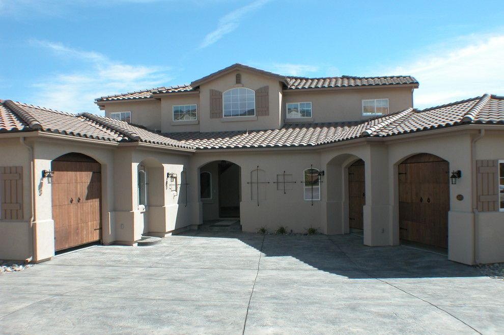 Costco Reno Nv for a Mediterranean Exterior with a Home Office and Manzanita Residence by Par 3 Design Group, Ltd.