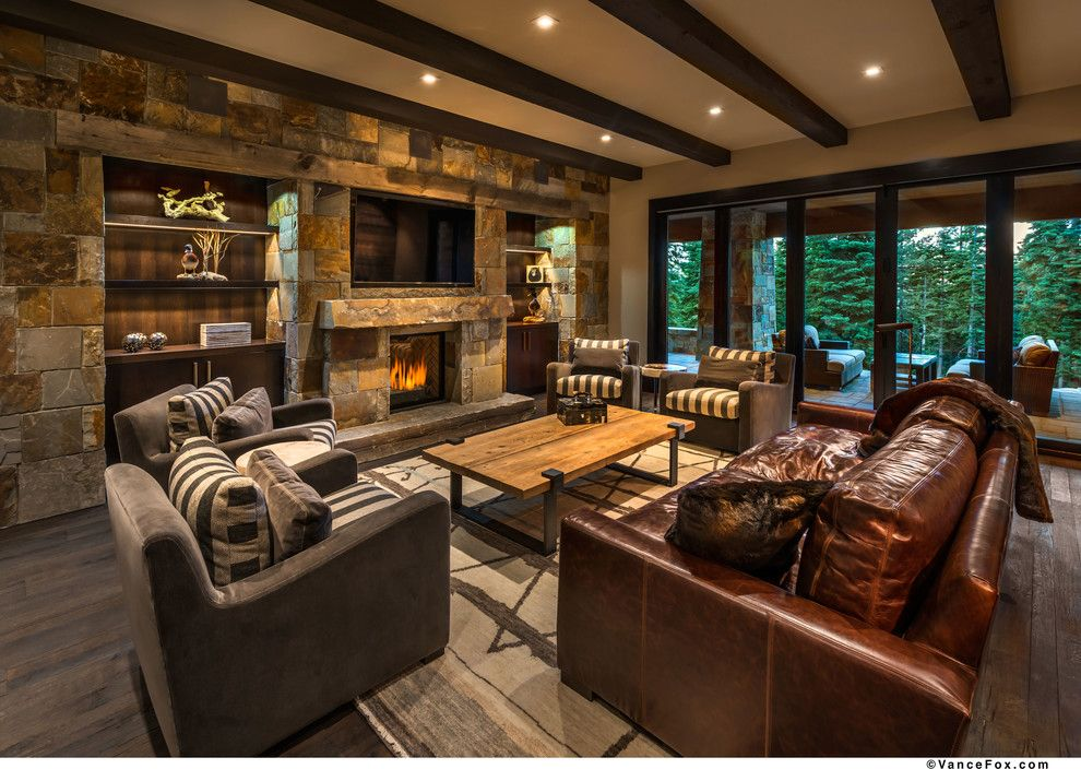 Costco Reno Nv for a Transitional Living Room with a Dark Finish and K37 by Westgate Hardwoods + Old Durham Floors