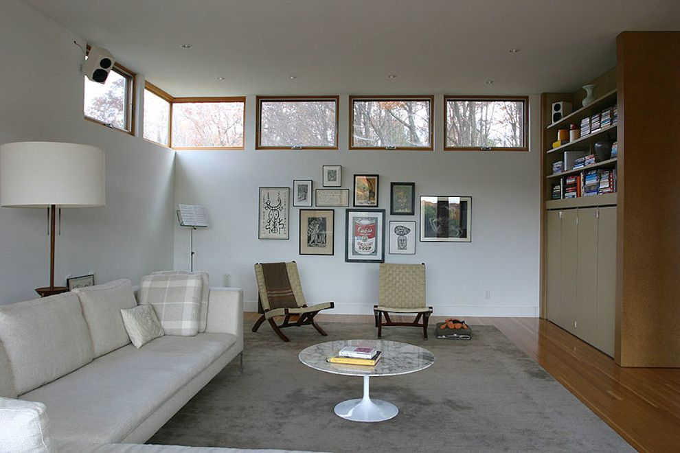 Costco Rug for a Modern Living Room with a Area Rug and Modern Living by Leap Architecture