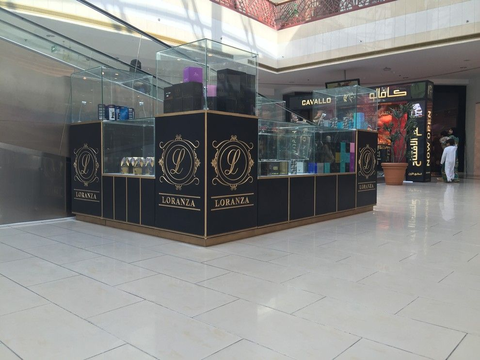 Covina Police Department for a Modern Spaces with a Refurbishment and Loranza Kiosk Jimi Mall Al Ain 2015 by Ccg Creative Concepts Group Interior Design & Deco