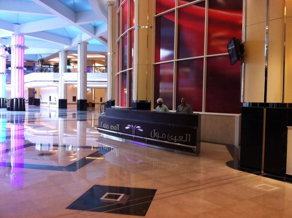 Covina Police Department for a Traditional Spaces with a Decor and Al Ain Mall Information Reception Desk  2011 by Ccg Creative Concepts Group Interior Design & Deco