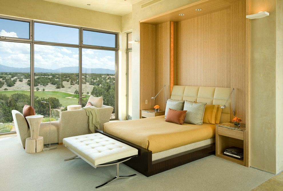 Craiglist Santa Fe for a Contemporary Bedroom with a Sophisticated and Estancias, Santa Fe, New Mexico by Foxwood