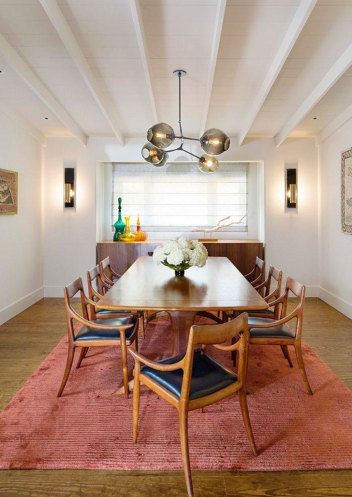 Craiglist Santa Fe for a Contemporary Dining Room with a Glass Pendant Lighting and Los Morros   Rancho Santa Fe, Ca by Esteban Interiors