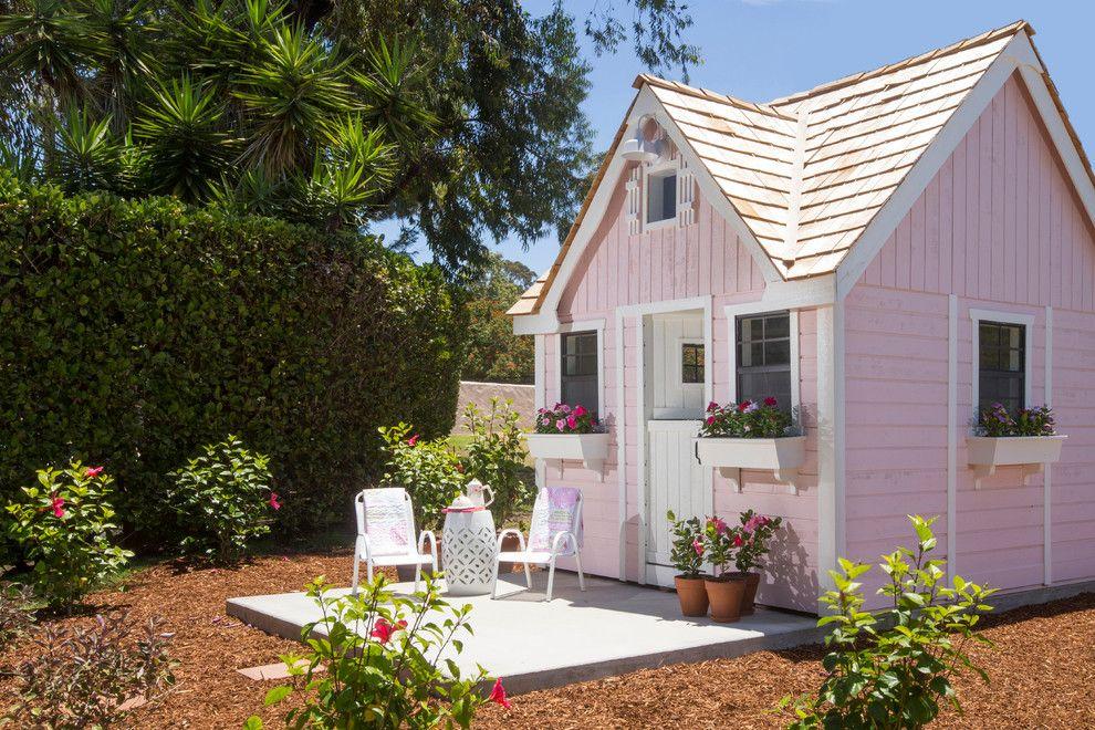 Craiglist Santa Fe for a Farmhouse Landscape with a Interior Design and Rancho Santa Fe Play House by Mindy Nicole Photography