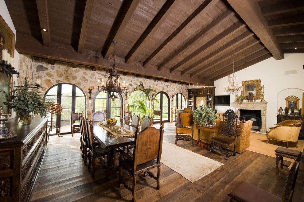 Craiglist Santa Fe for a Mediterranean Living Room with a Open Floor Plan and Rancho Santa Fe Homes for Sale by Willis Allen Real Estate