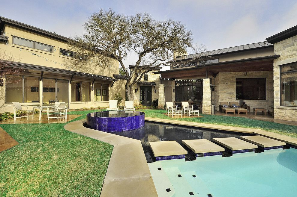 Craigslist Austin Tx Furniture for a Contemporary Exterior with a Specimen Tree and Westlake Residence by Cornerstone Architects