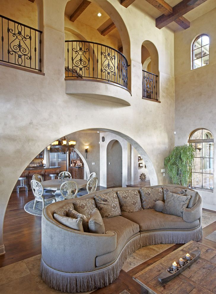 Craigslist Austin Tx Furniture for a Mediterranean Living Room with a Clerestory and Palmieri Residence by Vanguard Studio Inc.