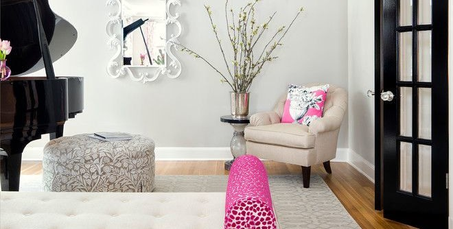 Craigslist Austin Tx Furniture for a Transitional Living Room with a Pink Living Room and Windsor Road Residence - Austin, TX by Martha O'Hara Interiors