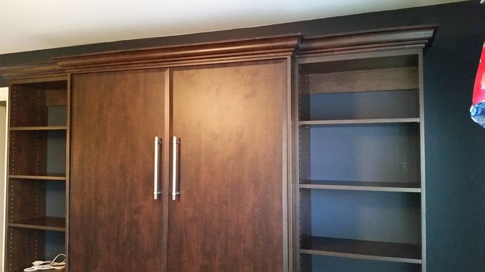 Craigslist Chattanooga Furniture for a  Spaces with a Horizontal Murphy Bed and Murphy Beds by Chattanooga Closet Co