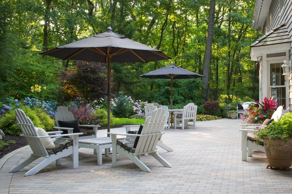 Craigslist Chicago Furniture for a Modern Patio with a Umbrella and Hydrangea Wonderland! by Smalls Landscaping