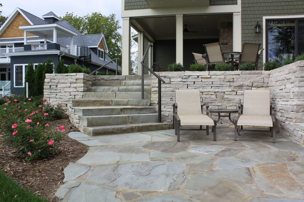 Craigslist Chicago Furniture for a Traditional Patio with a Traditional and Bluestone Patio by Arcadia Gardens, Llc