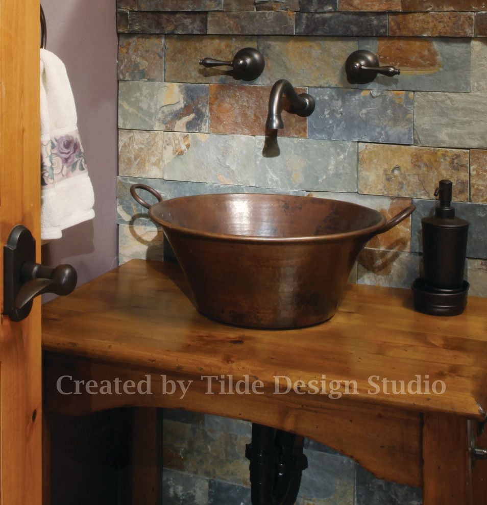 Craigslist Colorado Springs Furniture for a Eclectic Bathroom with a Steamboat Springs and Steamboat Springs Rental Unit by Tilde Design Studio