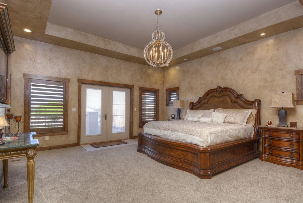 Craigslist Colorado Springs Furniture for a Mediterranean Bedroom with a Design Build and 2014 Parade of Homes   Bella Casa by Pioneer West Homes