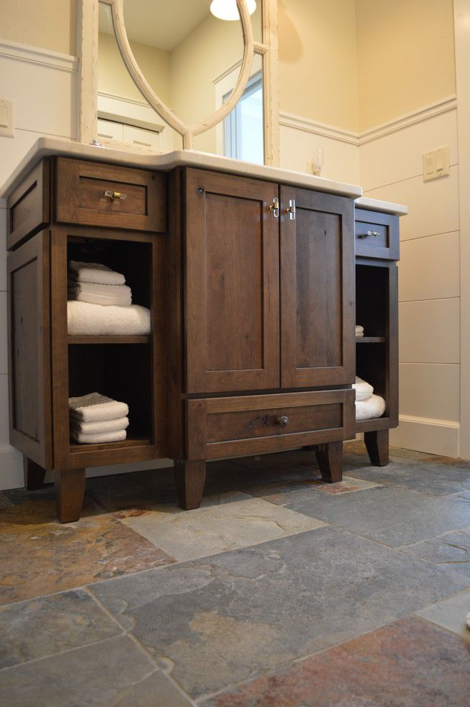 Craigslist Colorado Springs Furniture for a Rustic Bathroom with a Colorado and Homestead by Castle Kitchens and Interiors