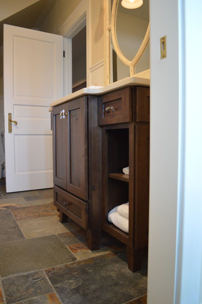 Craigslist Colorado Springs Furniture for a Rustic Bathroom with a Jennifer Hayes and Homestead by Castle Kitchens and Interiors