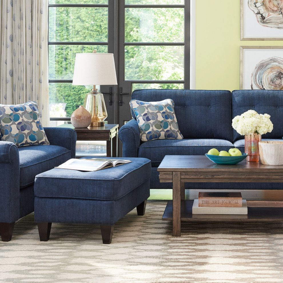 Craigslist Colorado Springs Furniture for a Transitional Living Room with a Yellow Wasll and La Z Boy by La Z Boy