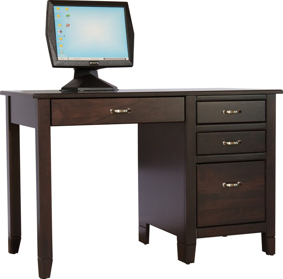 Craigslist Columbus Furniture for a Traditional Spaces with a Desk and Office by Amish Originals Furniture Co