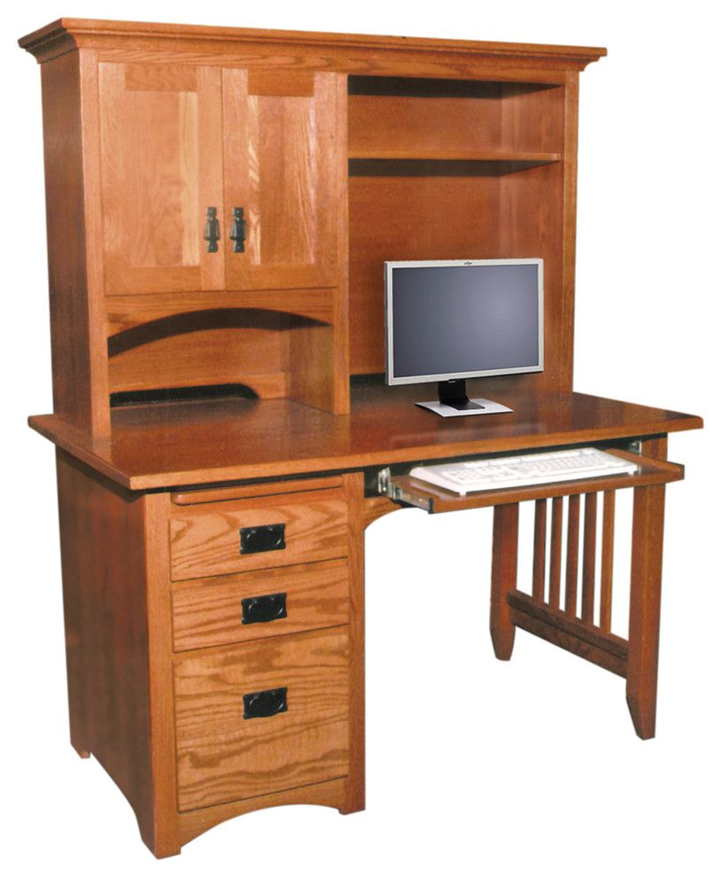 Craigslist Columbus Furniture for a Traditional Spaces with a Hutch and Office by Amish Originals Furniture Co