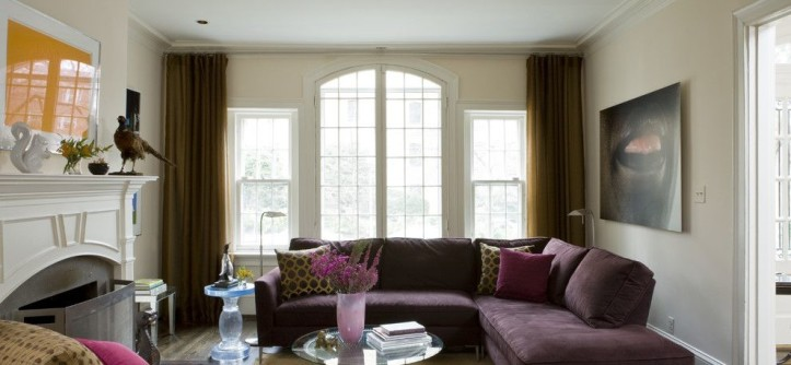 Craigslist Dc Furniture for a Contemporary Family Room with a Fireplace Mantel and Washington, DC by Liz Levin Interiors