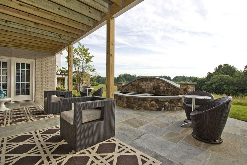 Craigslist Dc Furniture for a Contemporary Patio with a Stone Patio and M/i Homes of Dc: Maryland:: Balmoral   Westmoreland Model by M/i Homes