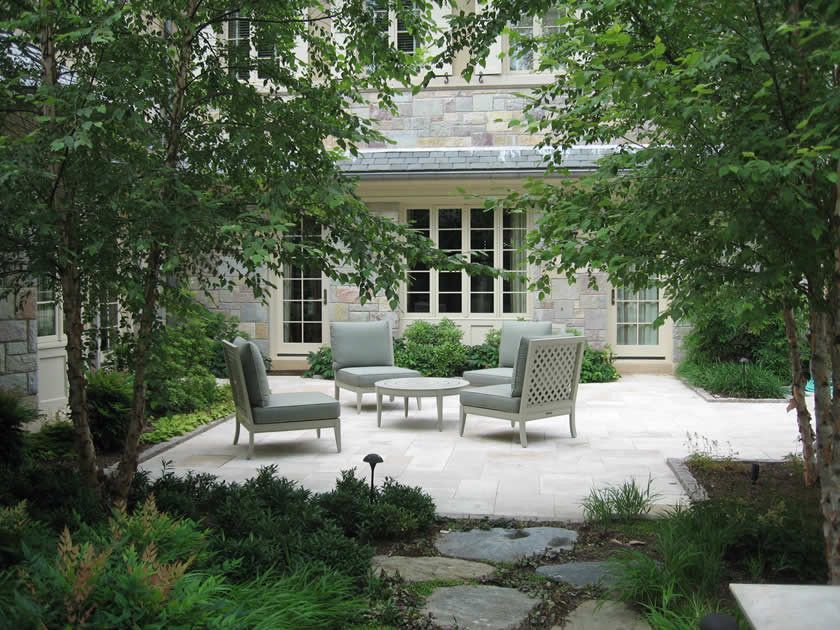 Craigslist Dc Furniture for a Traditional Landscape with a Shrubs and Clinton & Associates | Landscape Architects in Washington Dc, Maryland, and Virg by Clinton & Associates, Pc Landscape Architects