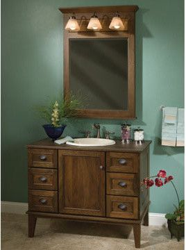 Craigslist Indianapolis Furniture for a Traditional Bathroom with a Traditional and Woodpro Furniture Vanities by Great Kitchens & Baths