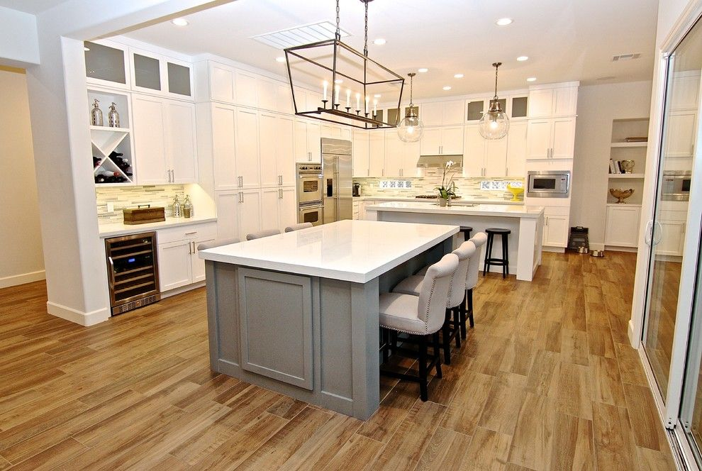 Craigslist Las Vegas Appliances for a Contemporary Kitchen with a Las Vegas and Ridges Remodel  Summerlin by Jkl Development Inc.