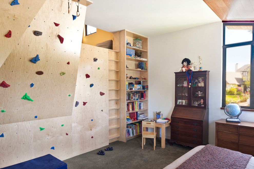 Craigslist Los Angeles Furniture for a Eclectic Kids with a Beige Wall and Endo Renovation by Linda Brettler Architect
