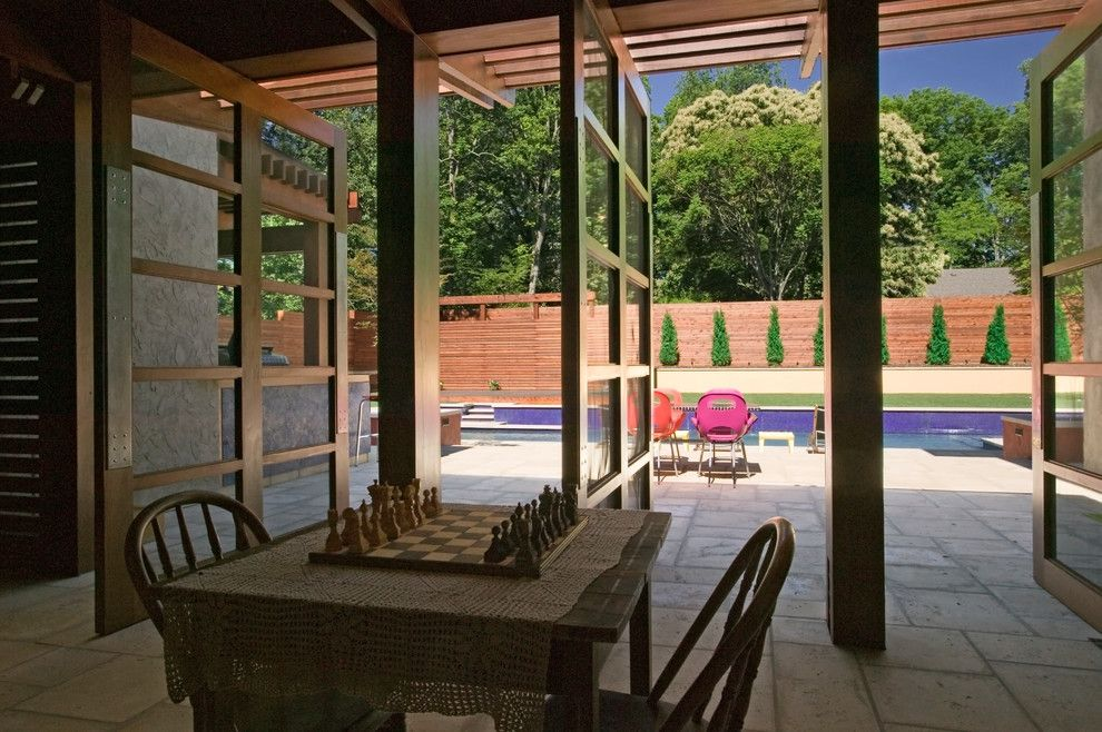 Craigslist Nashville Furniture for a Contemporary Patio with a Planting Bed and City Retreat by Gilbert | Mclaughlin | Casella Architects, Plc