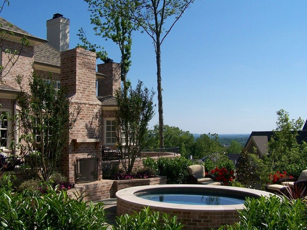 Craigslist Nashville Furniture for a Traditional Landscape with a Chimney and Iron Gate by R. Hartley Scott Asla   |   Long Hollow Gardens
