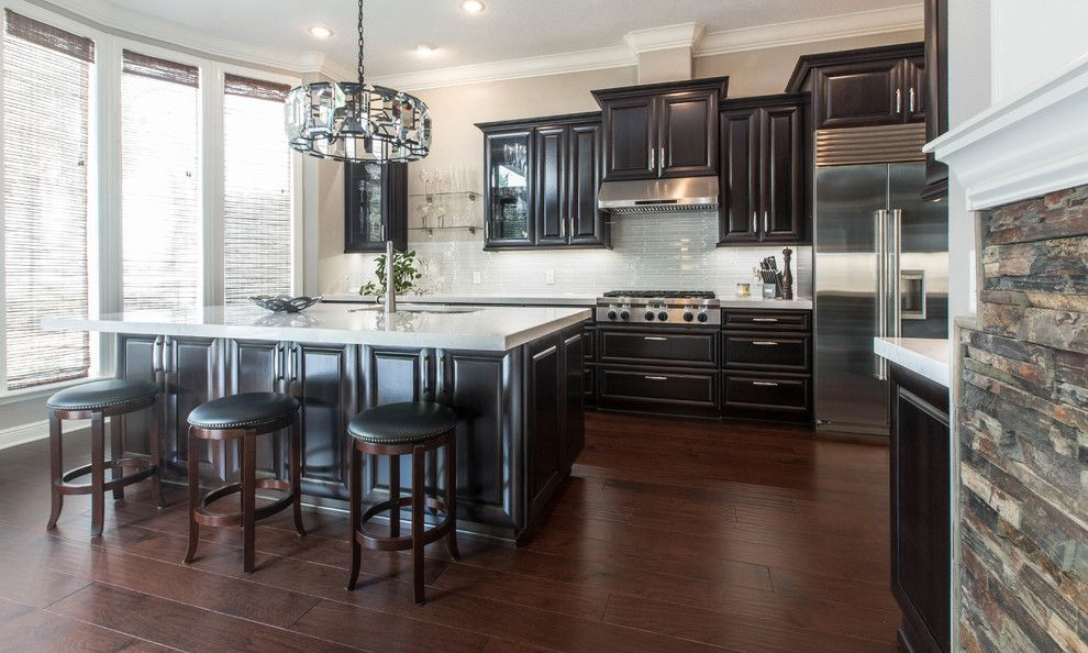 Craigslist Orlando Appliances for a Transitional Kitchen with a Big Kitchen Design and Weitzel Jt (Waypoint Living Spaces) Zelmar Kitchen Remodel by Zelmar Kitchen Designs & More, Llc