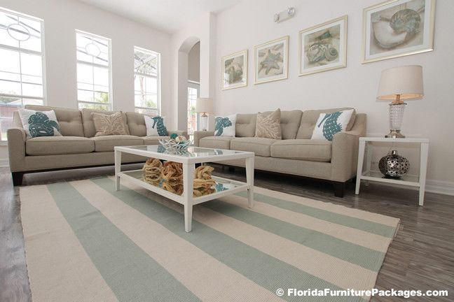 Craigslist Orlando Furniture for a Contemporary Living Room with a Coastal and Sea Pearl by Florida Furniture Packages
